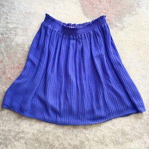 Joie Blue Beaded Skirt